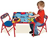 Mickey Mouse Clubhouse Capers Erasable Activity Table Set Toy by Kids Only, Inc