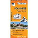 Carte Pologne Nord-Ouest Michelin