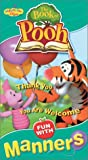 Book of Pooh: Fun With Manners [VHS] [Import]