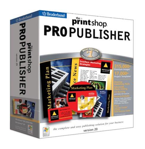 The PrintShop 20 Professional PublisherB00009APNB
