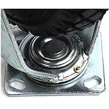 Lenkrolle-Luftrad-260mm-Luftreifen-Rolle-260x85mm-Reifen-mit-Metalfelge