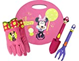 Midwest Gloves and Gear MY14P04-EA-AZ-6 Minnie Mouse Kneeling Pad and Garden Tool Set Combo Pack