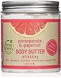 Petal Fresh Body Butter, Pomegranate/Grapefruit, 8 Ounce