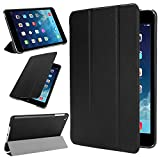 ipad mini case,Dealgadgets Ultra Slim Folio Smart Case Cover with Auto Sleep/Wake for Apple iPad mini / iPad mini 2 / iPad mini 3 (iPad Mini 1 2 3, Black)