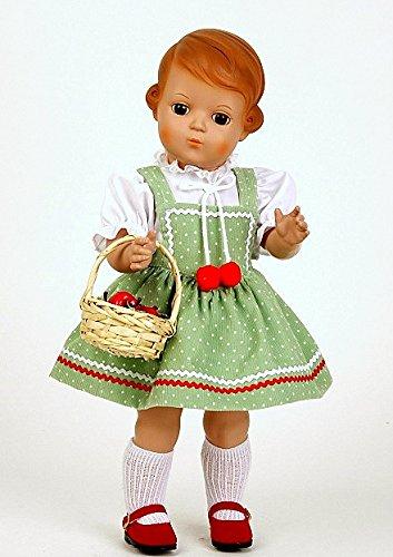 Schildkröt Puppen, Inge miblu, 41 cm, braun mit braunen Glaskugelaugen