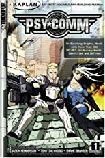 Psy-Comm, Volume 1: Kaplan SAT/ACT Vocabulary-Building Manga (Kaplan SAT/ACT Score-raising Manga)