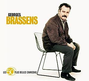 Les 50 Plus Belles Chansons : Georges Brassens (Coffret 3 CD)