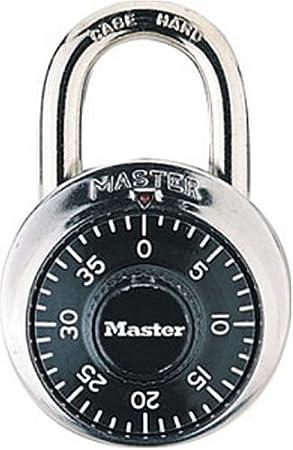 Master Lock 1500D Dial Combination Lock, 1-7/8-inch