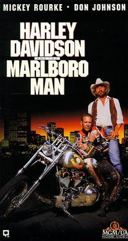 Harley Davidson and the Marlboro Man [VHS]