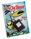 Quiet Spot Pet Tag Silencer, Black