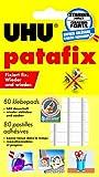 Office Product - UHU 1648810 - UHU Patafix, 80 ST, Klebepads, wei�