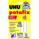 "UHU 1648810 - UHU Patafix, 80 ST, Klebepads, wei�von ""UHU"""