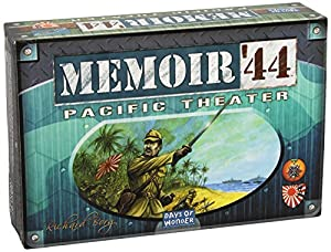 Days of Wonder Memoir '44 Pacific Theater Expansion Board Game