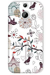 IndiaRangDe Hard Back Cover FOR HTC One M8