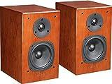 Quad 12L Classic Loudspeakers Pair - Cherry Wood Finish