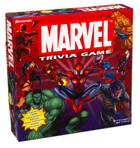 Marvel Comics Spiderman Trivia Game - Buy Marvel Comics Spiderman Trivia Game - Purchase Marvel Comics Spiderman Trivia Game (Pressman, Toys & Games,Categories,Games,Board Games,Trivia Games)