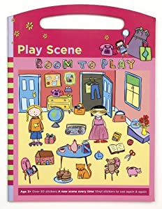Mudpuppy Room to Play Play Scene Sticker Set