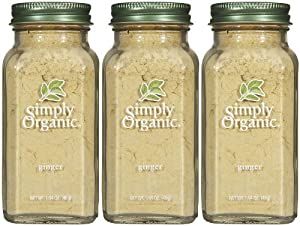 Simply Organic Ginger Ground -- 1.64 oz