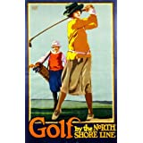 Golf By The North Shore Line (V&A Custom Print)