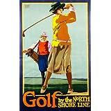 Golf By The North Shore Line (V&A Custom Print)