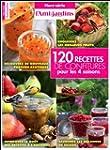 120 recettes de confitures pour les 4...