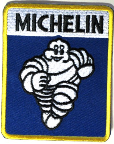 MICHELIN embroidered iron on patch/crest/applique 3.5 x 3 inch (Automotive Iron On Patches compare prices)