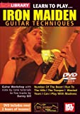 echange, troc Learn to Play Iron Maiden Guitar Techniques [Import anglais]