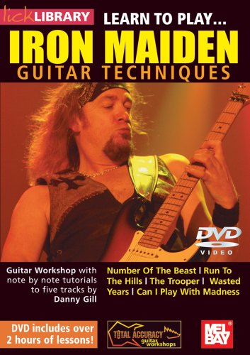 Learn To Play Iron Maiden [DVD]