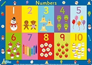 Little Wigwam Numbers Placemat