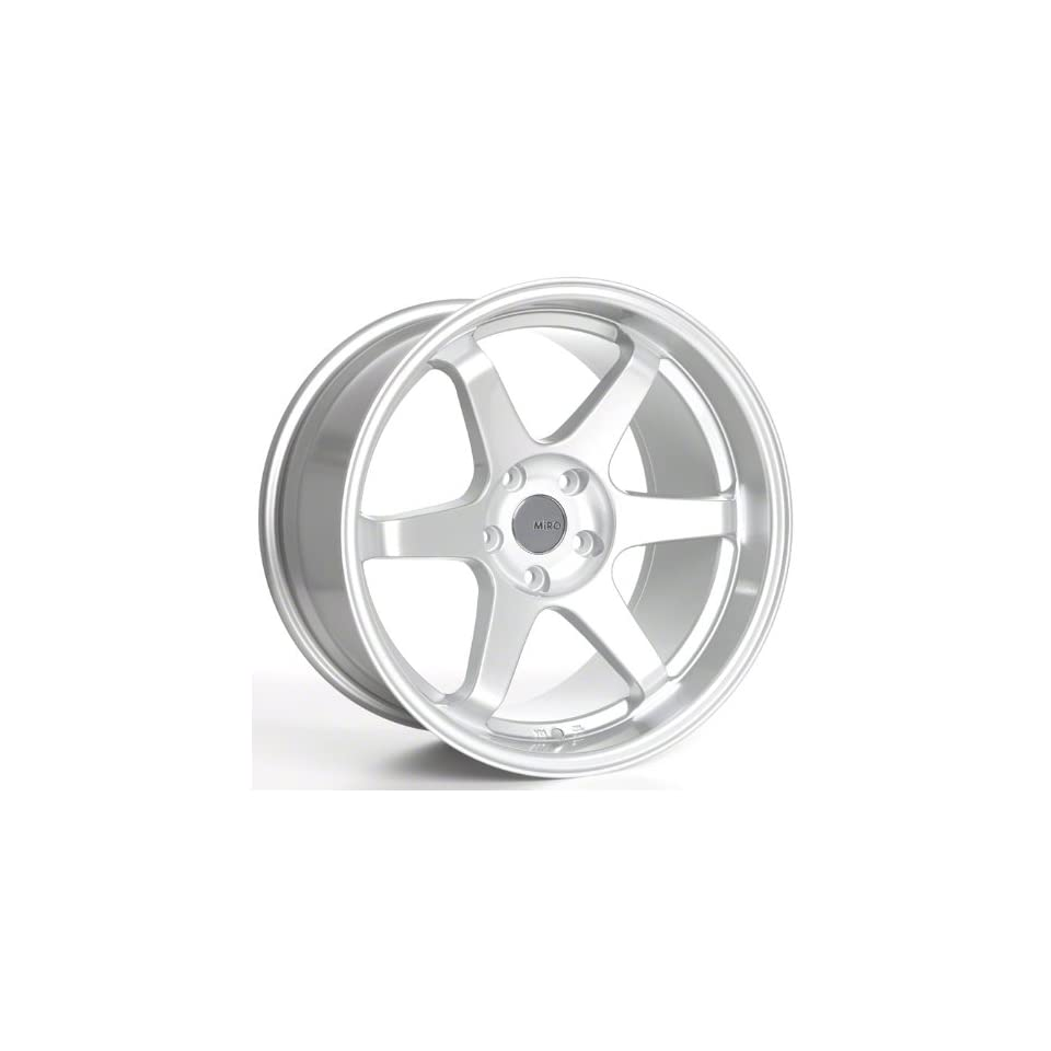 Miro Type 398 18 Silver Wheel / Rim 5x4.5 with a 20mm Offset and a 73.1 Hub Bore. Partnumber W398.825311