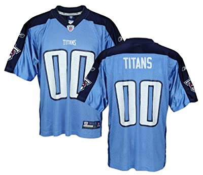 Tennessee Titans NFL Men's Team Replica Jersey, Sky Blue