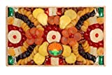 Garry's Dried Fruit Packs 5 Pounds of Christmas Hanukkah Holiday Thanksgiving Dried Fruits Wooden Basket