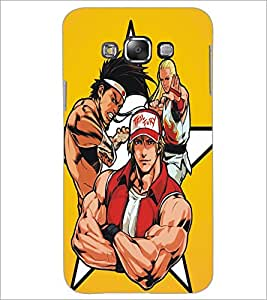 PrintDhaba Heroes D-5383 Back Case Cover for SAMSUNG GALAXY GRAND 3 (Multi-Coloured)