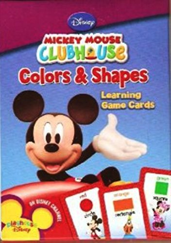 Mickey Mouse Colors & Shapes Learning Game Cards