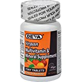 DEVA Vegan Vitamins Multivitamin & Mineral Once Daily Tabs, 90 ct