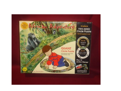 Cheap Totline African Adventure Giant Circle Puzzle (two-sided) (B000MOF806)