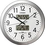 CITIZEN プログラムチャイム付き電波時計 プログラムカレンダー404 4FN404-019 4FN404-019