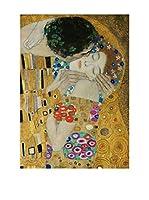 Legendarte Lienzo Il Bacio (Dettaglio) di Gustav Klimt