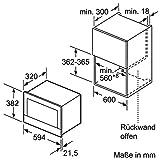 Neff-CWR-1701-N-Mikrowelle-900-W-21-L-Garraum-Einbaumikrowelle-edelstahl