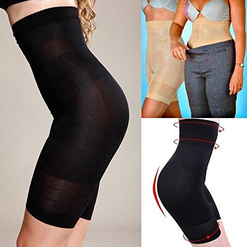 Sexy Women Beauty Slimming Shapewear Fat Burning Slim Shape Bodysuit Pants B_W (Asian Women Sexy)