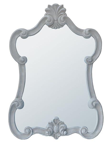 Mireille Portrait Mirror - Antique Taupe