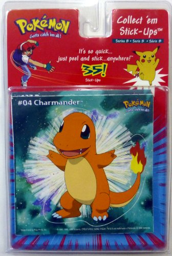 Pokemon Series B Set of 35 Stick-Ups