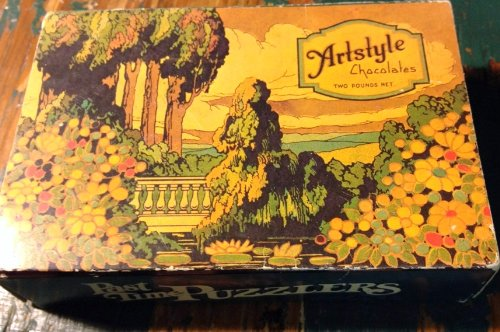 Artstyle Chocolates Springbok Past Time Puzzlers Puzzle