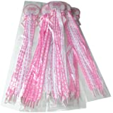 Lot Of 12 Pair - Pink Ribbon Shoe Laces - Breast Cancer Awareness - Fundraising