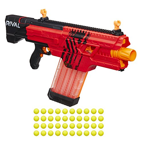 Nerf Rival Khaos MXVI-4000 Blaster (Red) (Nerf Guns With Magazine compare prices)