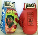 Muhammad Ali Boxer Autographed Limited Edition 56/250 Painted Olyimpic Everlast Boxing Gloves