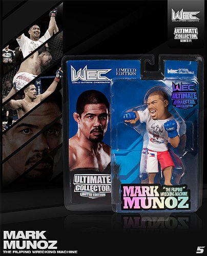 Mark Munoz WEC Round 5 UFC Ultimate Collector Series 11 Limited Edition #/750