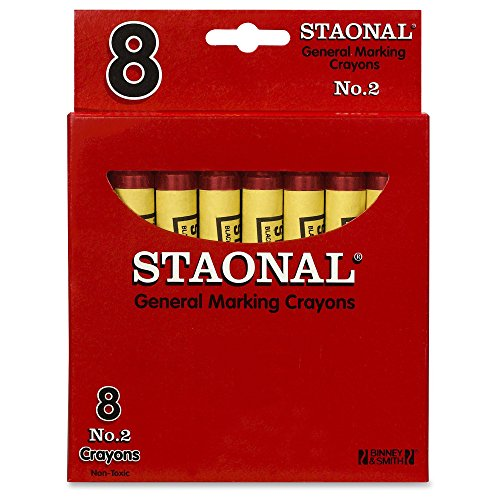 Crayola Staonal General Marking Crayons, Red - 1