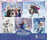 Picture Of <h1>Ceaco Disney&#8217;s Frozen 5-in-1 Multipack Jigsaw Puzzle Set</h1>