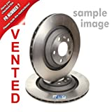 2x Brake disc vented Ã314 FRONT AUDI A6 4F2 2.0,2.4,2.7 TDI,2.8 FSI ,3.0,3.2 FSI,4.2 2004-11 + ESTATE 4F5 FROM 2005